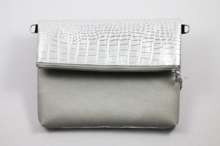 Clutch silber